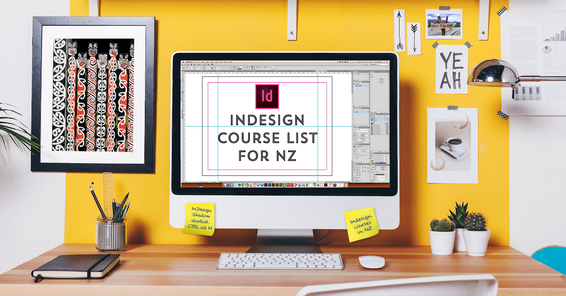 List Of InDesign Courses In Auckland