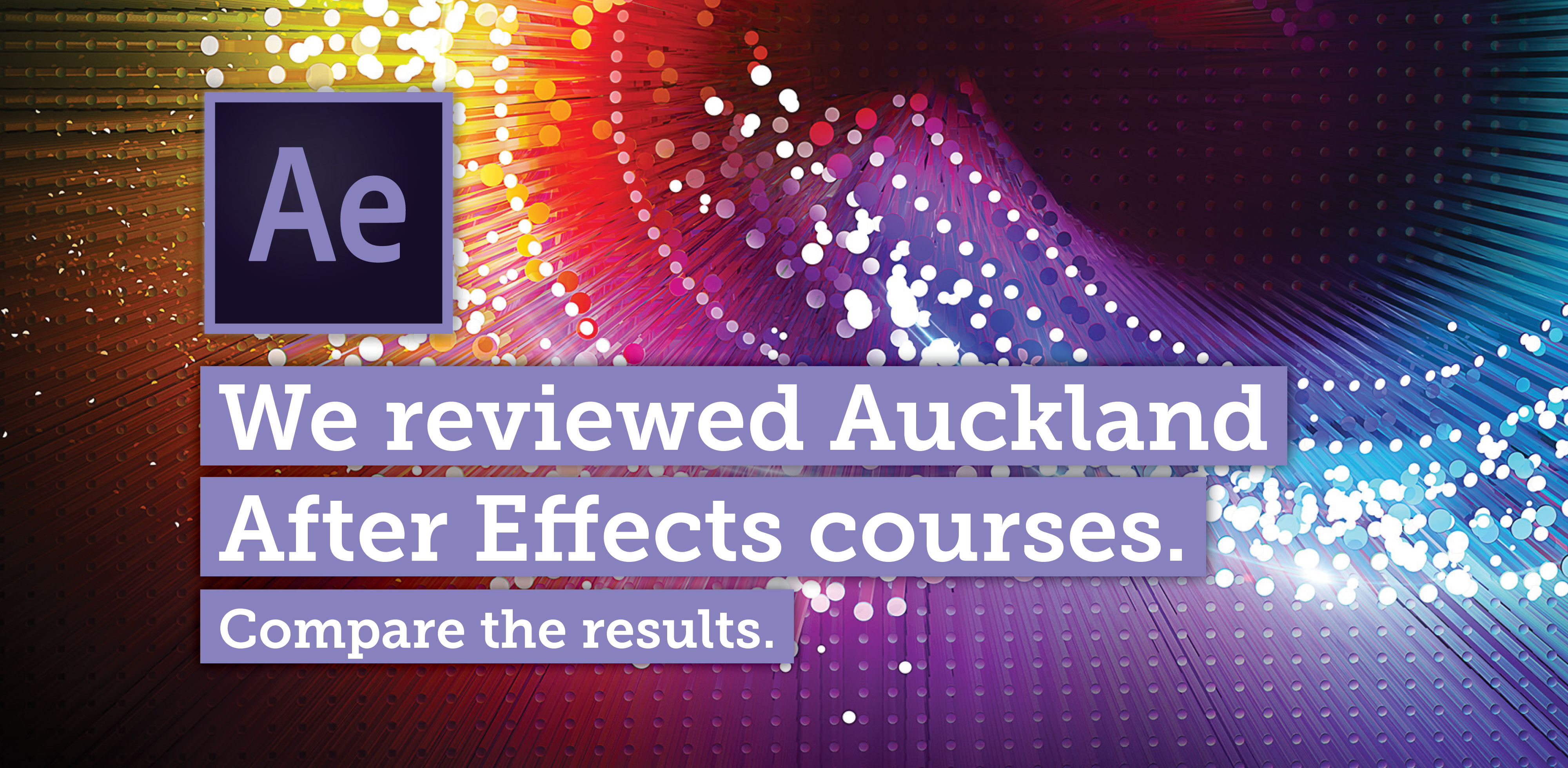 AfterEffects Courses Auckland
