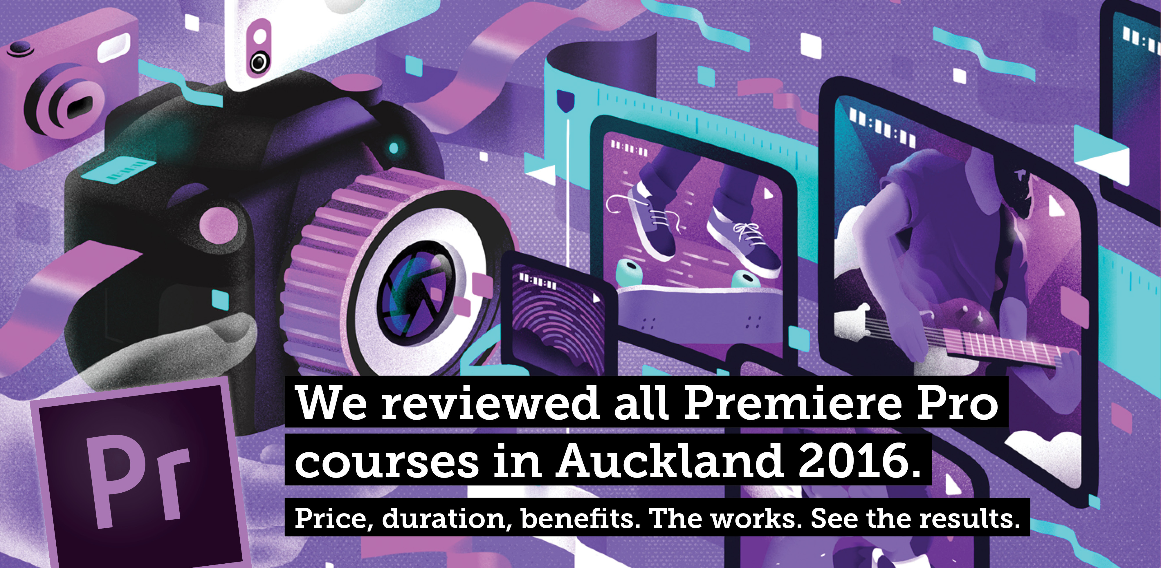 A list of Premiere Pro training courses in Sydney