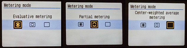 Different metering modes on your DSLR Camera