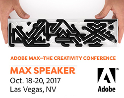 We're speaking at the Adobe Max Conference 2017