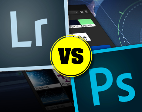 Lightroom vs Photoshop which to use.