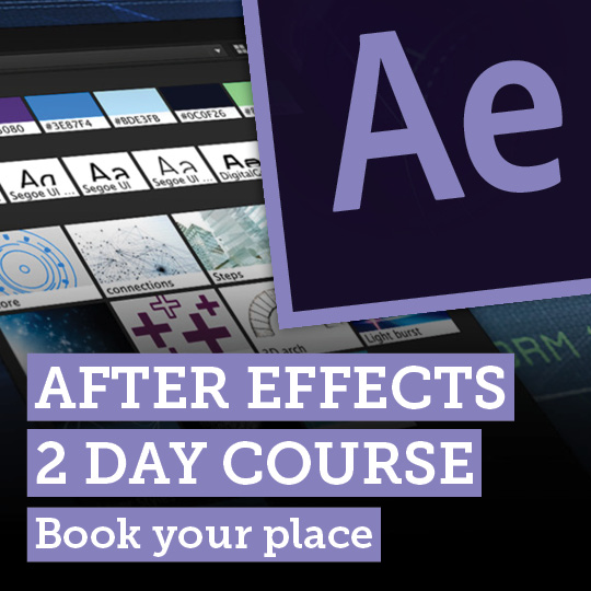 After Effects Course 2 Days
