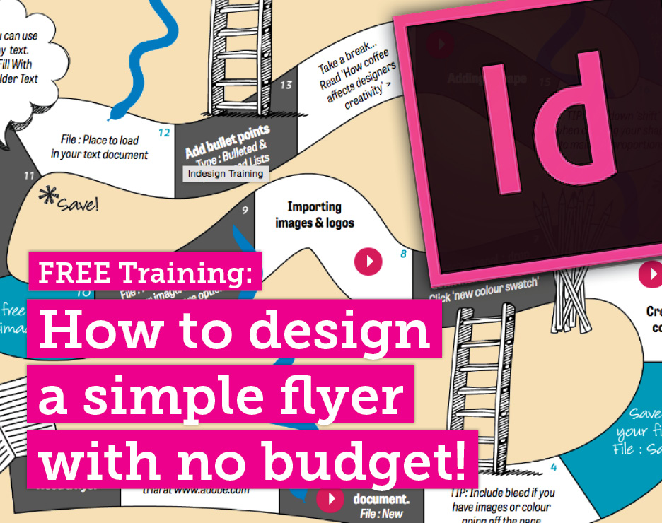 Design a flyer for free